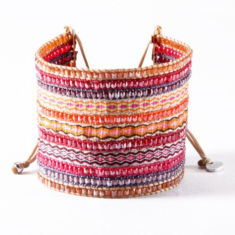 Bracelet COLLAGE FUSCIA BIG